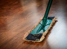 best way to clean wood floors