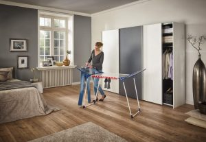 some tips on how to hang clothes on a drying rack
