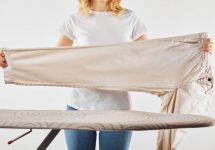 how to steam clothes without a steamer