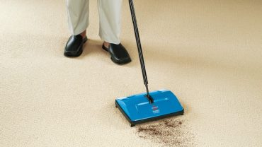 Regular Vacuuming And Sweeping