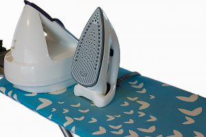 how to fit ironing board cover