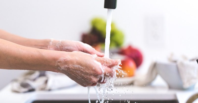 how to wash dishes without dish soap