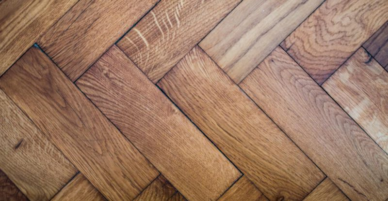 how to clean reclaimed parquet flooring