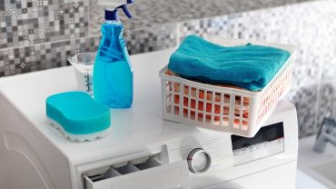 how to clean mould from washing machine drawer